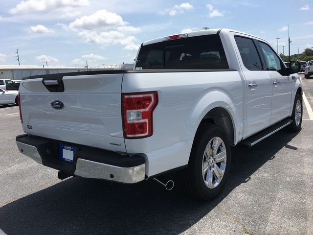 2018 Oxford White Ford F-150 XLT Automatic EcoBoost 2.7L V6 GTDi DOHC 24V Twin Turbocharged Engine RWD Truck