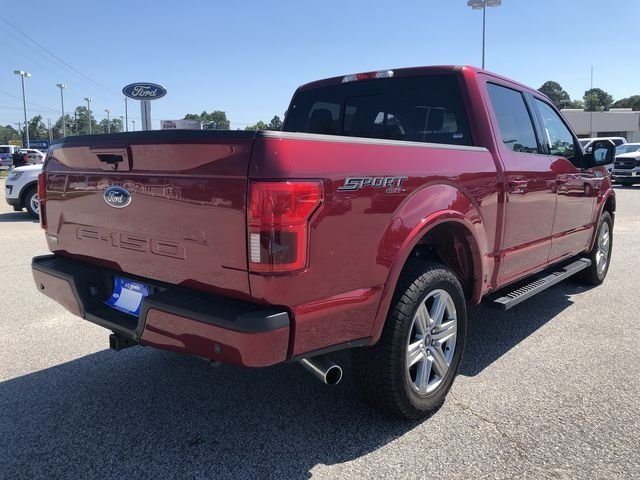 2018 Ruby Red Metallic Tinted Clearcoat Ford F-150 Lariat Truck 4X4 Automatic 4 Door 5.0L V8 Ti-VCT Engine