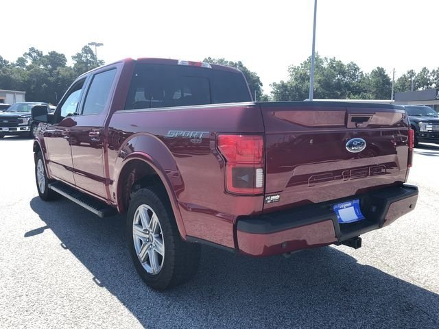 2018 Ruby Red Metallic Tinted Clearcoat Ford F-150 Lariat Automatic 5.0L V8 Ti-VCT Engine 4X4 4 Door