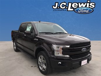 2018 Magma Red Metallic Ford F-150 Lariat Automatic Truck 4X4 5.0L V8 Ti-VCT Engine