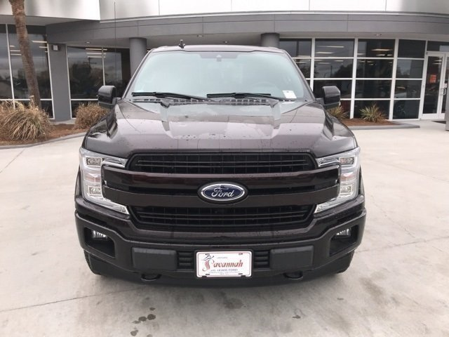 2018 Magma Red Metallic Ford F-150 Lariat Automatic 4X4 5.0L V8 Ti-VCT Engine 4 Door Truck