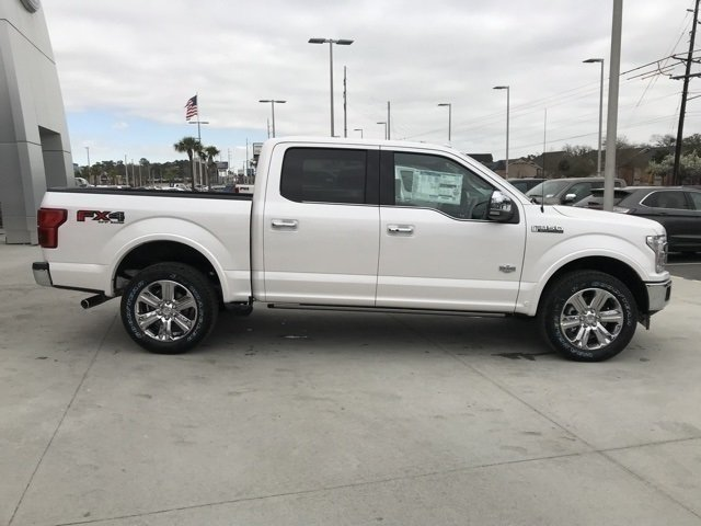 2018 Ford F-150 King Ranch 4X4 Automatic EcoBoost 3.5L V6 GTDi DOHC 24V Twin Turbocharged Engine 4 Door Truck