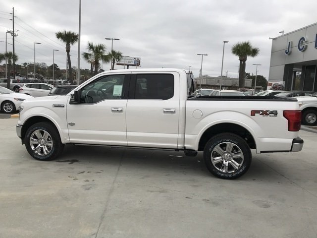 2018 Ford F-150 King Ranch 4X4 EcoBoost 3.5L V6 GTDi DOHC 24V Twin Turbocharged Engine 4 Door Automatic