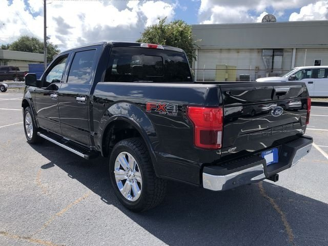 2018 Shadow Black Ford F-150 Lariat 4X4 EcoBoost 3.5L V6 GTDi DOHC 24V Twin Turbocharged Engine Automatic