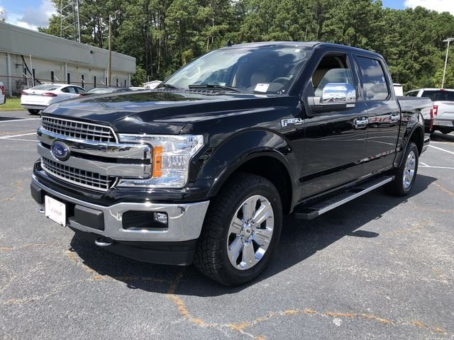 2018 Ford F-150 Lariat 4 Door EcoBoost 3.5L V6 GTDi DOHC 24V Twin Turbocharged Engine 4X4 Truck Automatic