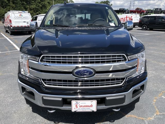 2018 Shadow Black Ford F-150 Lariat Automatic Truck EcoBoost 3.5L V6 GTDi DOHC 24V Twin Turbocharged Engine 4X4