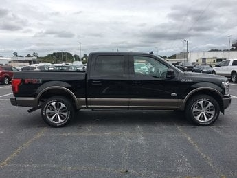 2018 Shadow Black Ford F-150 King Ranch EcoBoost 3.5L V6 GTDi DOHC 24V Twin Turbocharged Engine 4X4 Automatic 4 Door
