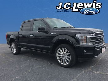 2018 Shadow Black Ford F-150 Limited EcoBoost 3.5L V6 GTDi DOHC 24V Twin Turbocharged Engine 4 Door 4X4 Truck Automatic