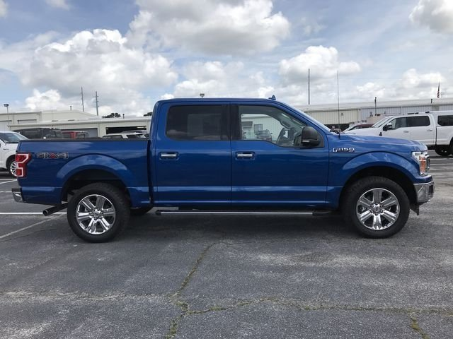 2018 Lightning Blue Ford F-150 XLT 4 Door Automatic EcoBoost 2.7L V6 GTDi DOHC 24V Twin Turbocharged Engine
