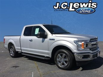 2018 Ingot Silver Metallic Ford F-150 XLT Automatic RWD 5.0L V8 Ti-VCT Engine Truck 4 Door