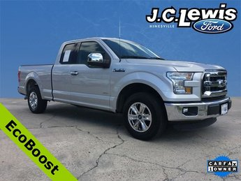 2015 Ingot Silver Metallic Ford F-150 XLT 2.7L V6 EcoBoost Engine Automatic 4 Door RWD Truck
