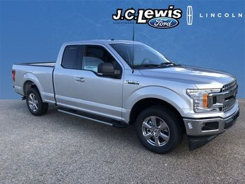 2018 Ingot Silver Metallic Ford F-150 XLT Truck 4 Door EcoBoost 2.7L V6 GTDi DOHC 24V Twin Turbocharged Engine RWD