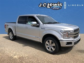 2018 Ingot Silver Metallic Ford F-150 Platinum 4 Door Automatic 3.0L Diesel Turbocharged Engine