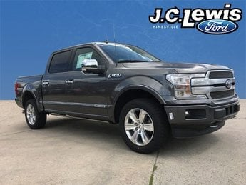 2018 Magnetic Metallic Ford F-150 Platinum 4 Door Automatic 4X4 3.0L Diesel Turbocharged Engine