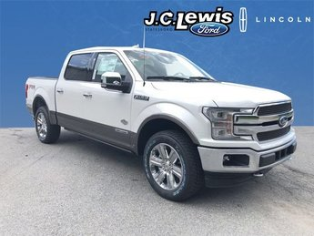 2018 Ford F-150 King Ranch 3.0L Diesel Turbocharged Engine 4X4 Truck 4 Door