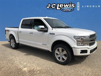2018 Ford F-150 Platinum 4X4 3.0L Diesel Turbocharged Engine Truck