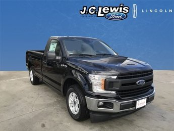 2018 Shadow Black Ford F-150 XL 3.3L V6 Ti-VCT 24V Engine Automatic Truck RWD 2 Door