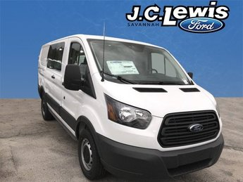 2018 Oxford White Ford Transit-250 Base Automatic 3.7L V6 Ti-VCT 24V Engine 3 Door