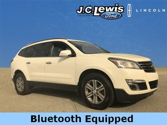 2015 White Chevy Traverse 2LT FWD Automatic 4 Door 3.6L V6 SIDI Engine