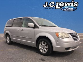 2010 Bright Silver Metallic Chrysler Town & Country Touring Van Automatic FWD
