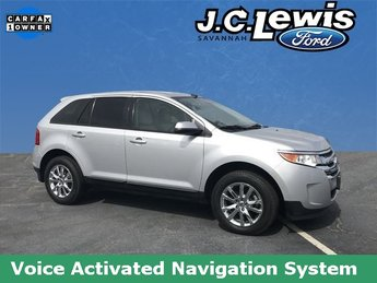 2013 Ingot Silver Metallic Ford Edge SEL SUV 4 Door FWD