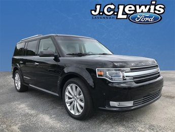 2018 Shadow Black Ford Flex Limited 3.5L V6 Ti-VCT Engine 4 Door SUV FWD Automatic