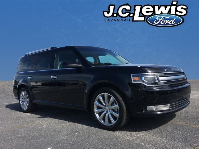 2018 Shadow Black Ford Flex Limited SUV Automatic 4 Door 3.5L V6 Ti-VCT Engine