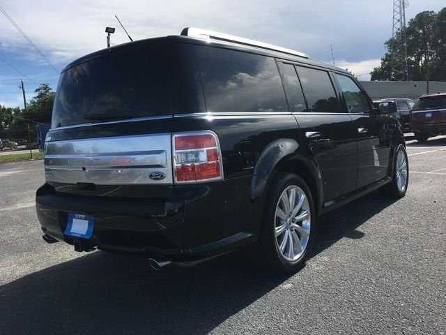 2018 Shadow Black Ford Flex Limited 4 Door 3.5L V6 Ti-VCT Engine FWD