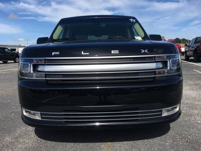 2018 Shadow Black Ford Flex Limited 3.5L V6 Ti-VCT Engine FWD Automatic