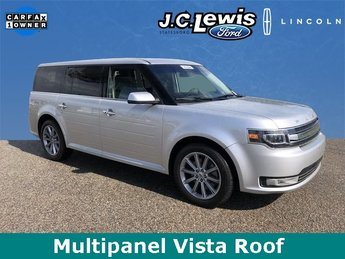 2017 Ingot Silver Metallic Ford Flex Limited Automatic SUV 4 Door AWD