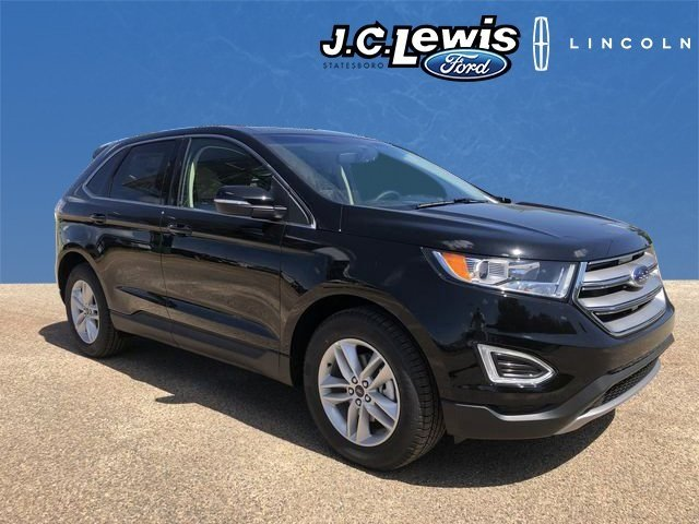 Shadow Black Ford Edge Sel Automatic Suv  Door