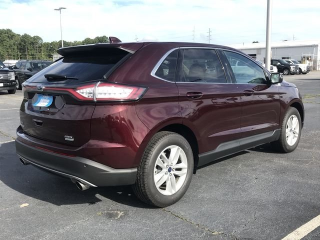 2018 Ford Edge SEL EcoBoost 2.0L I4 GTDi DOHC Turbocharged VCT Engine Automatic SUV