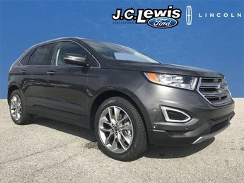 2018 Ford Edge Titanium 3.5L V6 Ti-VCT Engine Automatic 4 Door