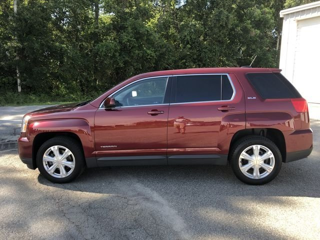 2017 Crimson Red Tintcoat GMC Terrain SLE-1 FWD Automatic 4 Door 2.4L 4-Cylinder SIDI DOHC VVT Engine