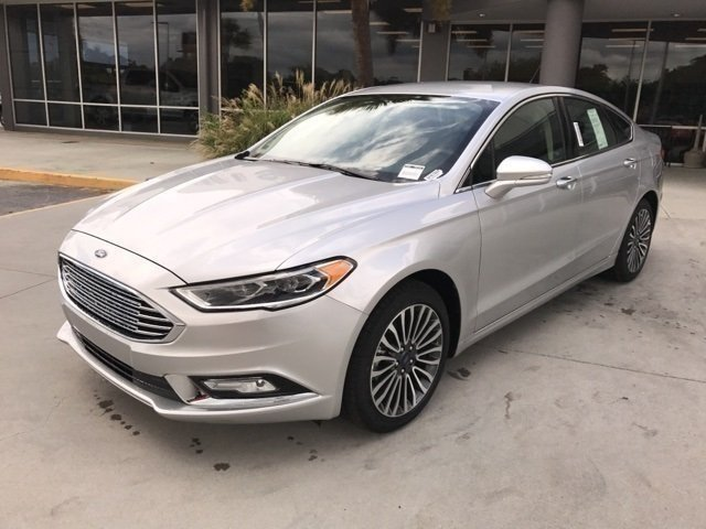2017 Ford Fusion SE EcoBoost 2.0L I4 GTDi DOHC Turbocharged VCT Engine Automatic 4 Door