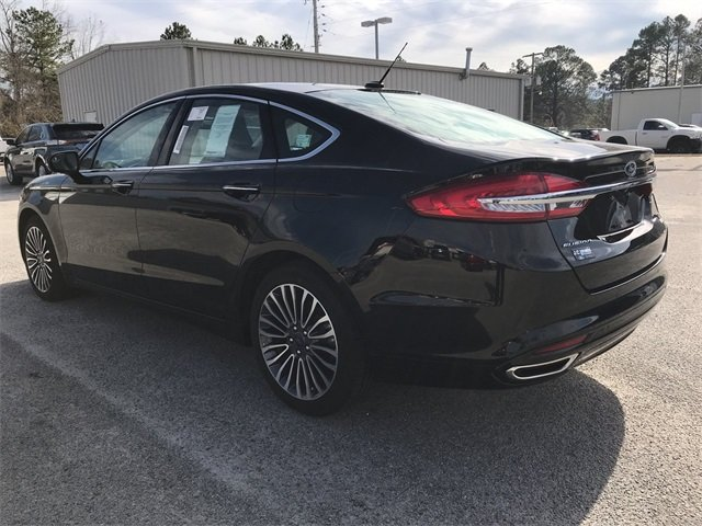2018 Ford Fusion SE EcoBoost 2.0L I4 GTDi DOHC Turbocharged VCT Engine Sedan Automatic