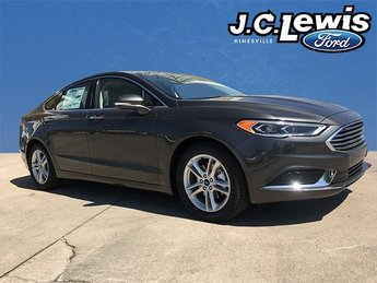 2018 Magnetic Metallic Ford Fusion SE Sedan 4 Door FWD EcoBoost 1.5L I4 GTDi DOHC Turbocharged VCT Engine