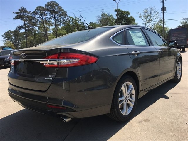 2018 Ford Fusion SE Automatic EcoBoost 1.5L I4 GTDi DOHC Turbocharged VCT Engine Sedan FWD