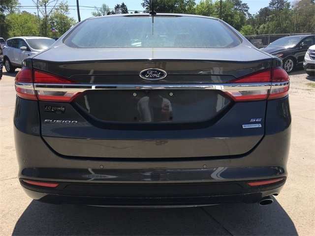 2018 Magnetic Metallic Ford Fusion SE 4 Door Sedan FWD EcoBoost 1.5L I4 GTDi DOHC Turbocharged VCT Engine Automatic