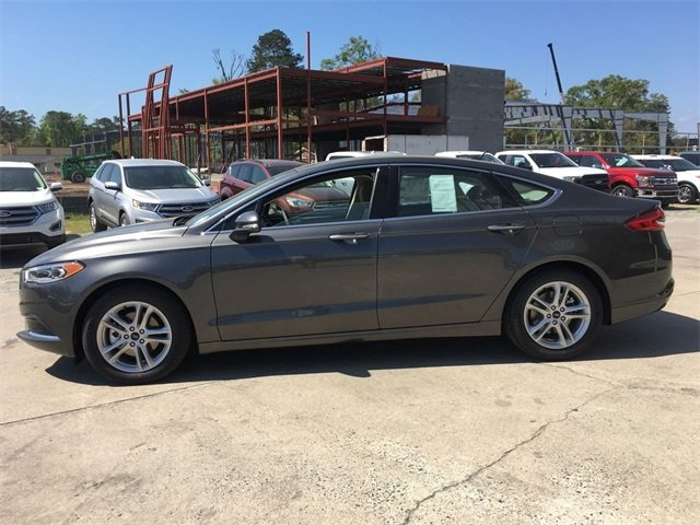 2018 Magnetic Metallic Ford Fusion SE Sedan Automatic EcoBoost 1.5L I4 GTDi DOHC Turbocharged VCT Engine 4 Door