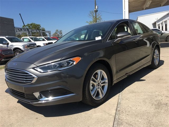 2018 Magnetic Metallic Ford Fusion SE FWD Sedan Automatic 4 Door EcoBoost 1.5L I4 GTDi DOHC Turbocharged VCT Engine