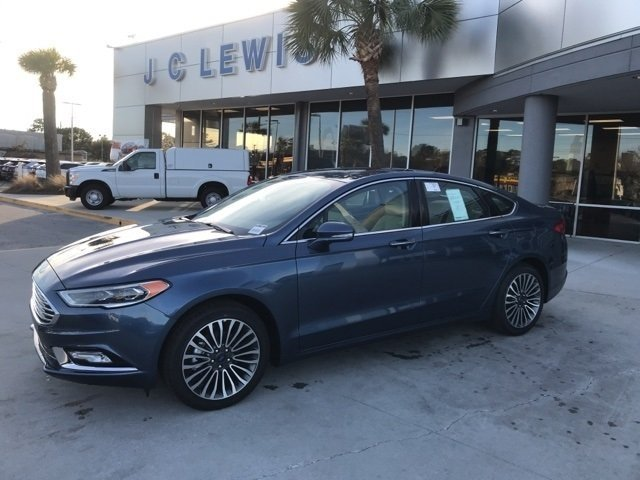 2018 Ford Fusion Titanium 4 Door Sedan EcoBoost 2.0L I4 GTDi DOHC Turbocharged VCT Engine Automatic