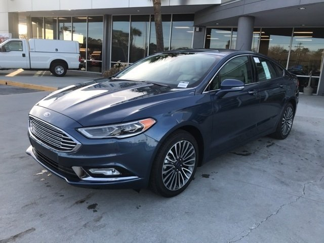 2018 Ford Fusion Titanium Automatic 4 Door EcoBoost 2.0L I4 GTDi DOHC Turbocharged VCT Engine
