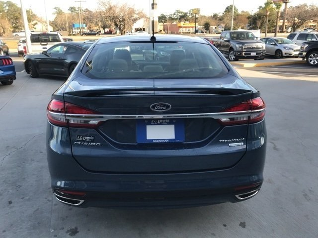 2018 Ford Fusion Titanium Sedan EcoBoost 2.0L I4 GTDi DOHC Turbocharged VCT Engine 4 Door FWD Automatic
