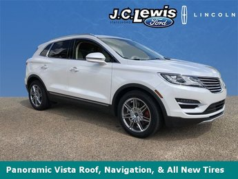 2015 Lincoln MKC Reserve EcoBoost 2.0L I4 GTDi DOHC Turbocharged VCT Engine SUV Automatic FWD 4 Door