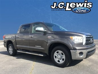 2012 Magnetic Gray Metallic Toyota Tundra Grade 4 Door i-Force 5.7L V8 DOHC Engine Automatic RWD