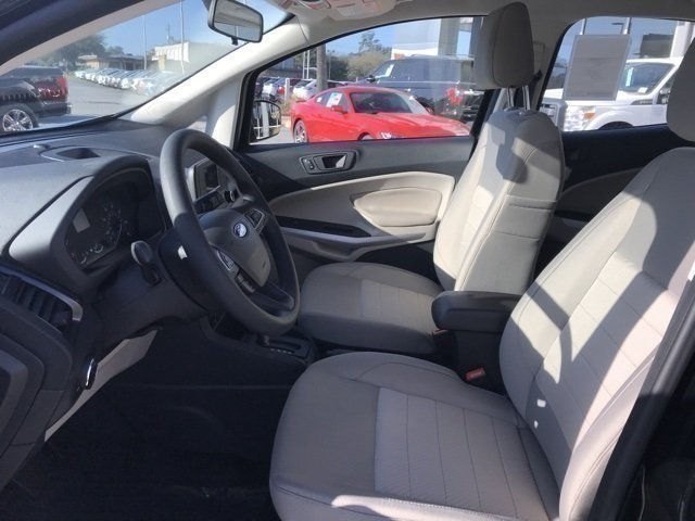 2018 Ford EcoSport S Automatic 4 Door EcoBoost 1.0L I3 GTDi DOHC Turbocharged VCT Engine