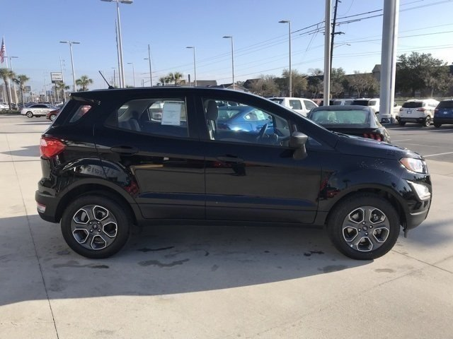 2018 Ford EcoSport S 4 Door SUV EcoBoost 1.0L I3 GTDi DOHC Turbocharged VCT Engine