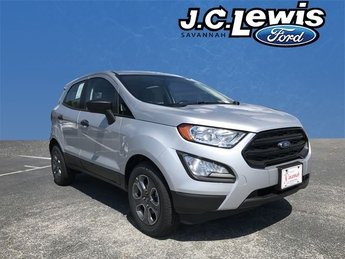 2018 Ford EcoSport S 4 Door SUV EcoBoost 1.0L I3 GTDi DOHC Turbocharged VCT Engine Automatic