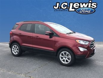 2018 Ford EcoSport SE EcoBoost 1.0L I3 GTDi DOHC Turbocharged VCT Engine 4 Door Automatic